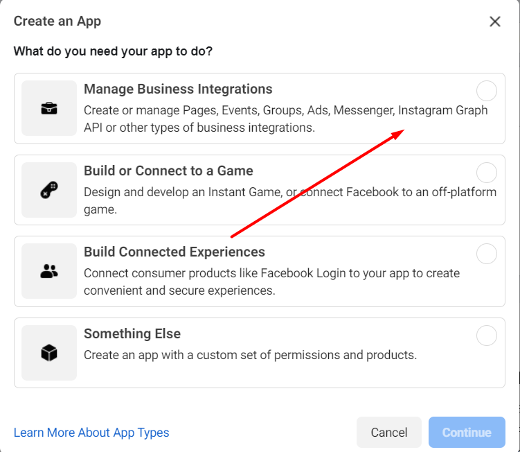 Facebook - How To Manage Business Integrations